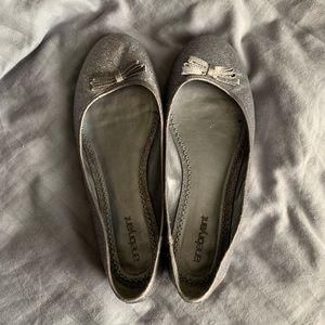 Silver Sparkle Torrid ballet flats